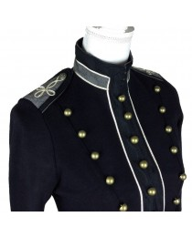 Denim & Supply Ralph Lauren Women Army Military Officer Embroidered Officer Band Coat     2020