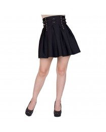 Gothic Skirt High Waisted Skirt Gothic Corset Goth Dress Soft Grunge Steampunk Clothing