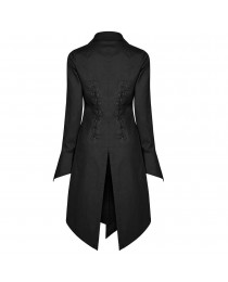 Vampire Punk Rave Women Corporate Shirt Coat     2020