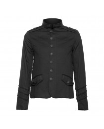 Men Gothic officer jacket with braided lining Men Jacket