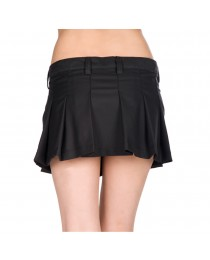 Women Stylish Skirt Black Mini Pistol Ladies Skirt