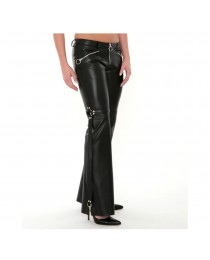 Ladies Low Waisted Flare Pants     2020