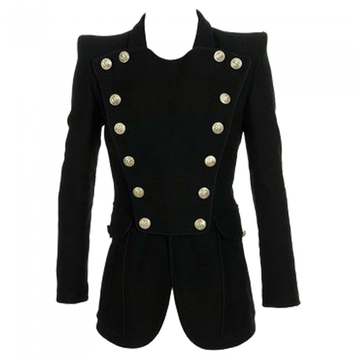 Women Alternative Gothic Black Coat