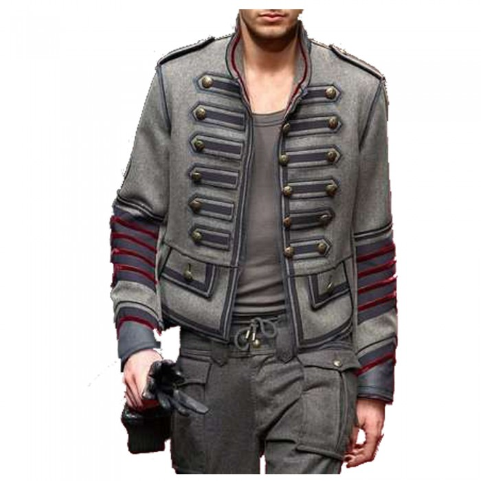 Men Pride Military Style Jacket     2021