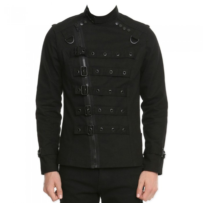 Men Psycho Bondo Punk EMO Gothic Jacket