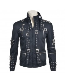 Mj Bad Cosplay Costume Michael Jackson Black Jacket