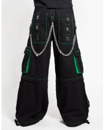 Gothic Bondage Men Pant Alternative Punk Rock EMO Trouser Pant Shorts